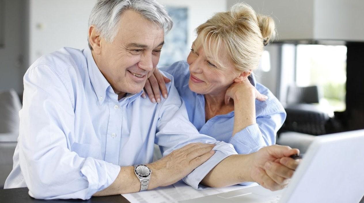 Un couple de retraité